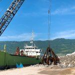 護岸工事・魚礁用石材・被覆石